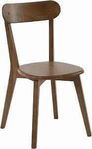 Chaise Bistrot Bois : chaise style bistrot bois d 39 orme lot de 2 ~ Teatrodelosmanantiales.com Idées de Décoration