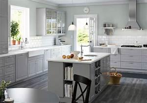Deco Cuisine Ikea : cuisine campagne d couvrez toutes nos inspirations elle d coration ~ Teatrodelosmanantiales.com Idées de Décoration