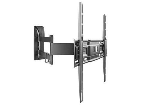 support mural tv rotatif et inclinable pour 233 cran de 40 224 50 meliconi slimstyle 400 sdr chez