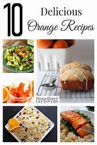 10 Delicious Orange Recipes