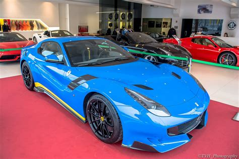 World's First Azzuro Dino Ferrari F12tdf Gtspirit
