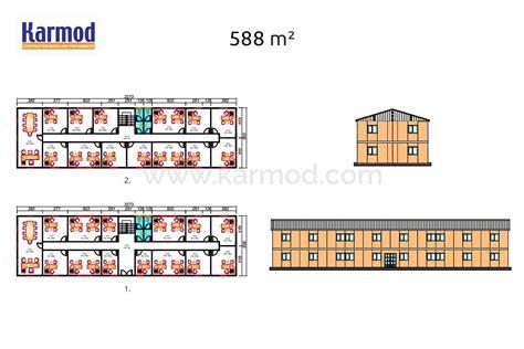 Plan Bureau Modulaire  Plan De Construction De Bureaux