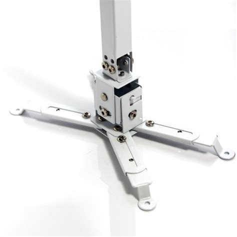 masione universal lcd adjustable projector ceiling mount bracket kit with adjustable extension