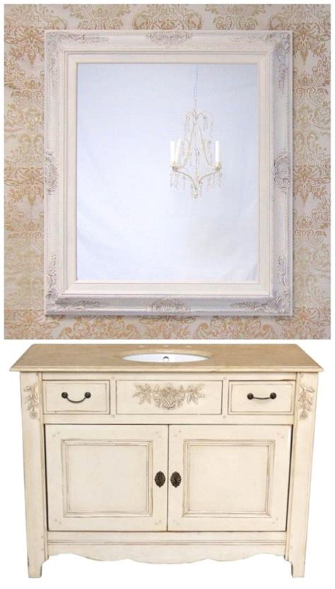 bathroom vanity mirrors  sale french country