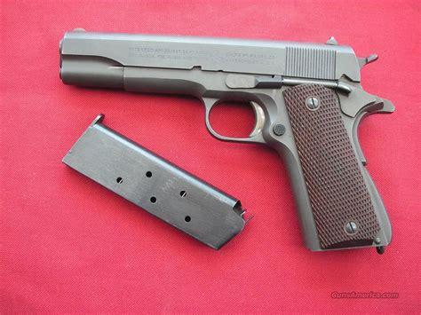 Colt Ww2 1911a1 In Mint Original Condition For Sale
