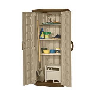 Suncast Vertical Storage Shed 22 Cuft by Suncast 20 Cu Ft Vertical Storage Shed Lawn Garden
