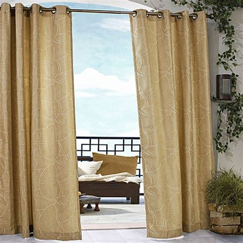 indoor outdoor curtains belize indoor outdoor grommet window curtain panels bed