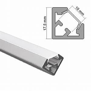 Led Alu Profil 3 Meter : aluminum profile anodised ideal for led strips 2 meter eledron e 19 40 ~ Buech-reservation.com Haus und Dekorationen