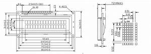 16x2 Lcd Pinout Diagram  Description  Arduino Examples And