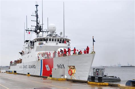 Dvids  Images  Coast Guard Cutter Bear Returns Home