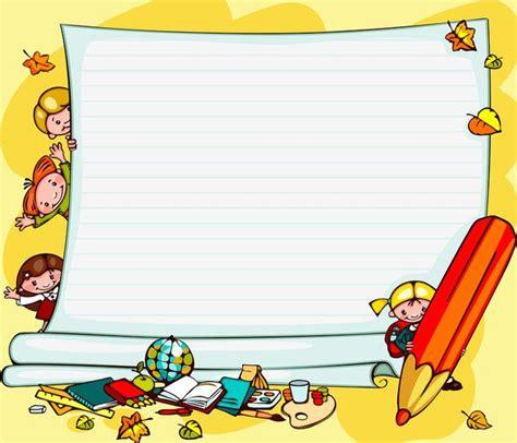articles d ecole | Bordas coloridas, Ideias para escola ...