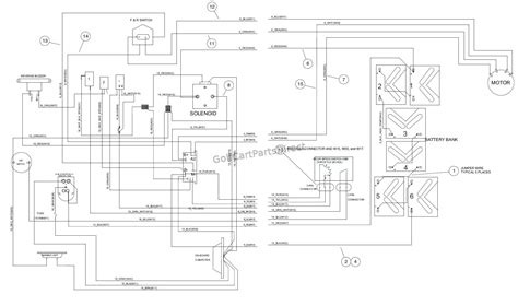 Wiring Diagram For Club Car Charger by Club Car Villager 6 Wiring Diagram Wiring Library