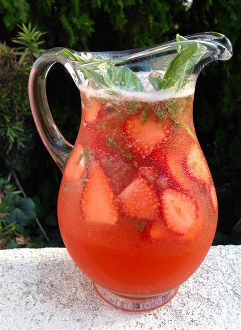 strawberry basil lemonade recipe video ciaoflorentina