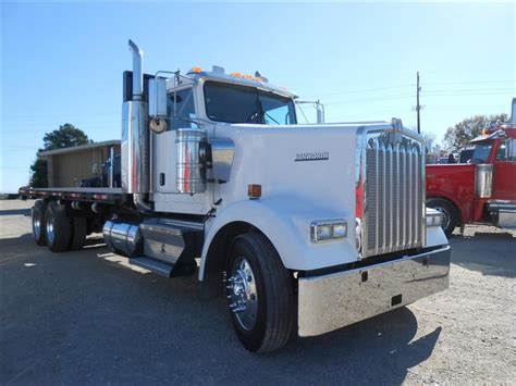 2007 kenworth trucks for sale used 2007 kenworth w900 flatbed truck for sale in ms 6019