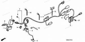 Honda Atv 2007 Oem Parts Diagram For Wire Harness