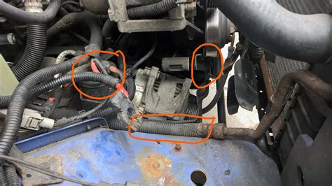 98 Jeep Alternator Wiring by Replace 2001 Jeep Battery Wiring Harness Wiring