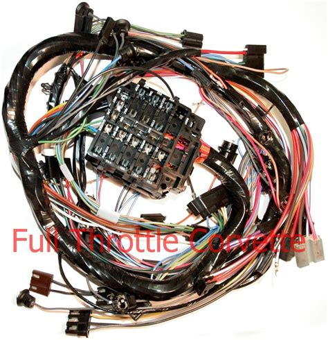 1970 corvette dash wiring harness for cars without air conditioning 1st design ebay