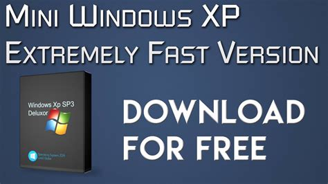 windows xp sp3 fast version new link 2018 youtube