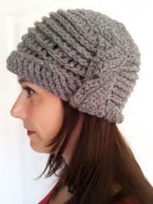 Free Pattern Crochet Cloche Hats