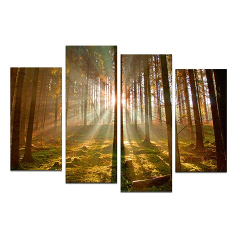 adorable large canvas wall as the wall decor of your