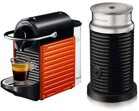 Nespresso Uae by Souq Nespresso Pixie Espresso Machine With Aeroccino