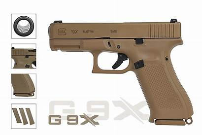 Glock 19x Coyote 9mm Tan Pistole Arms24