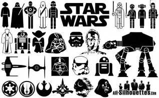 Star Wars Logo Silhouette