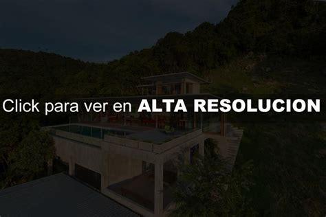 casa moderna  ecologica en la selva fachadas de casas