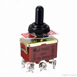 2020 Electric Toggle Switch 6 Pin Dpdt 3 Position