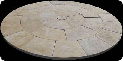 Pavers Round Paver Foot Concrete Pre Cast