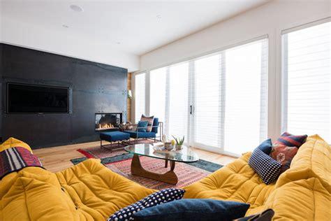 canapes ligne roset salon avec un canapé ligne roset jaune