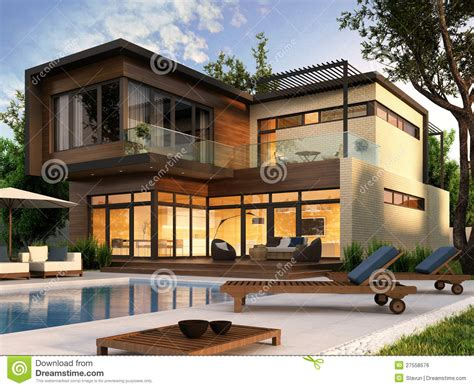house plans mansion inspiration casa moderna stock de ilustraci 243 n imagen de sue 241 o