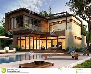 Casa Moderna Immagine Stock Libera Da Diritti