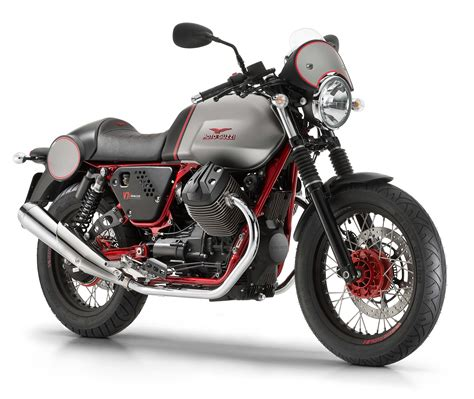 moto guzzi launches 2016 v7 ii stornello and v7 ii racer in milan