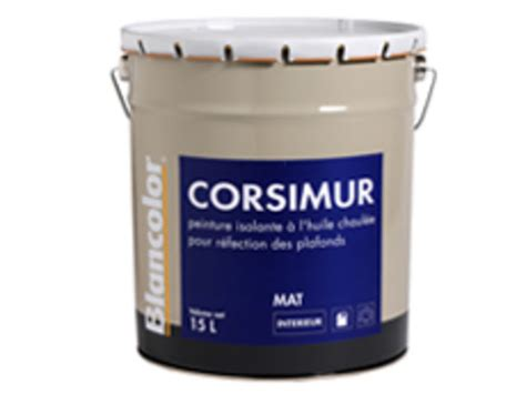 peinture isolante 224 l huile corsimur contact blancolor