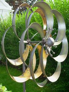 Windräder Für Den Garten : windspiel gartenstecker windrad garten figur metall wind rad bl tenzauber blume ~ Indierocktalk.com Haus und Dekorationen