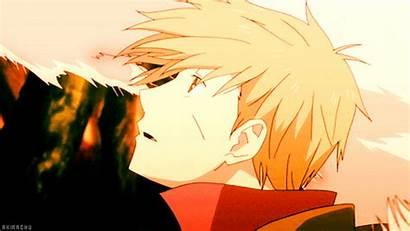 Anime Boy Blond Animation Gifs Animated Favim