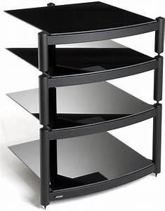 Hifi Tv Rack : equinox a r c black 4 shelf r s hifi stand ~ Michelbontemps.com Haus und Dekorationen