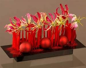 Art Floral Centre De Table Noel : un centre de table aux couleurs traditionnelles de no l fait maison pinterest centres de ~ Melissatoandfro.com Idées de Décoration