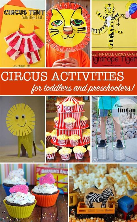 brilliant circus crafts your toddlers will crafts 541 | f3347cbbbad1c7f98b6ab15caa03ac30