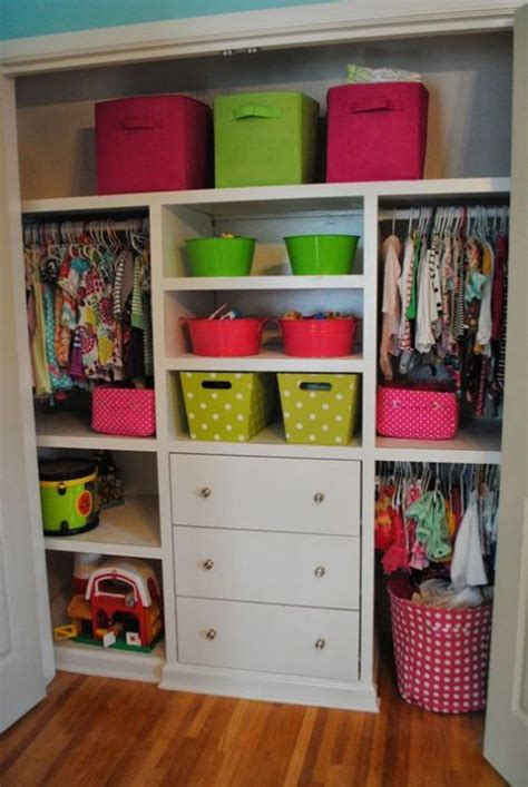 Kid Closet Organizer - awesome closet organization ideas comfydwelling