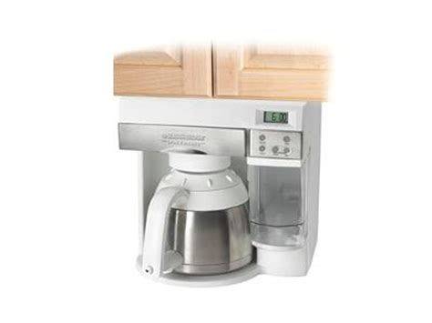 cabinet coffee maker i if it is feasible to use cabinet coffee