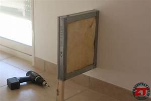 Comment Faire Des Bandes De Placo : tuto cr ation d 39 un meuble tv en placo ~ Dailycaller-alerts.com Idées de Décoration