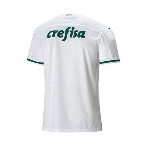 Camisa Palmeiras Infantil Puma 2 20/21 Masculina - Branco ...