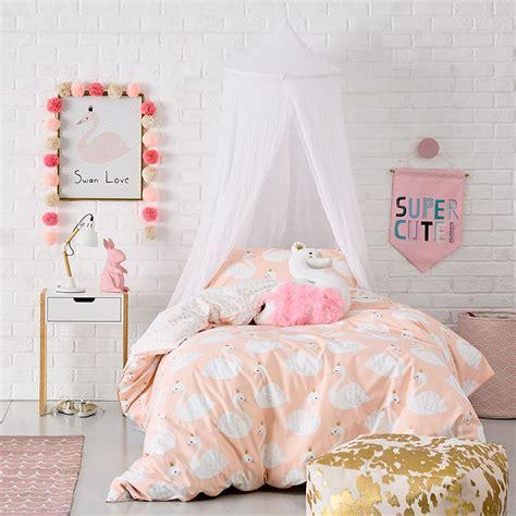 adairs swan princess adairs bedroom quilt covers coverlets adairs