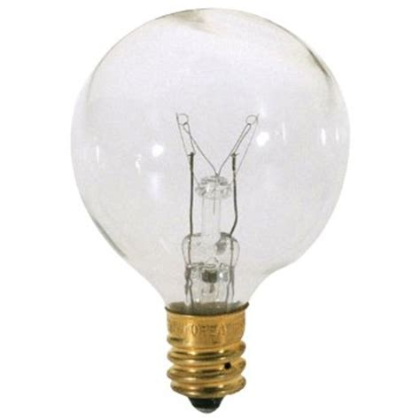 25w 120v g12 e12 clear bulb 6 pack by bulbrite at lumens