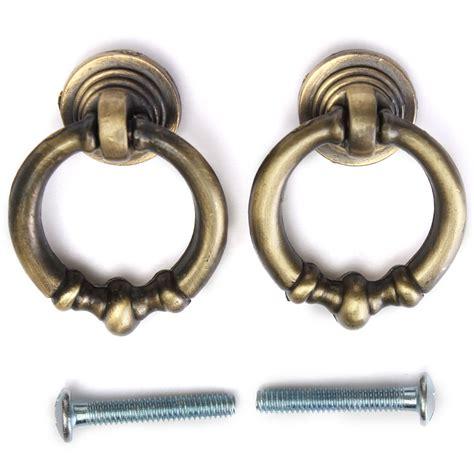 antique brass cabinet knobs 2pcs antique brass vintage cabinet drawer dresser cupboard
