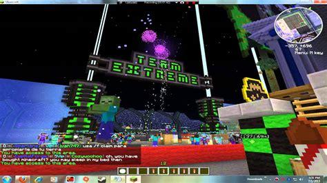 Team Extreme Minecraft Firework Show 2 Youtube