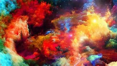 Explosion Rainbow Abstract Wallpapersmug Background Desktop