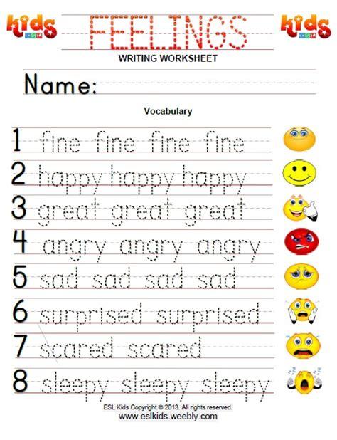 feelings worksheet for worksheets for all